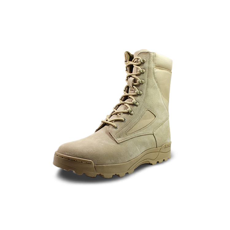High Cut Full grain leather soldier boots