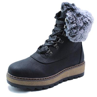 Winter fashion snow boots