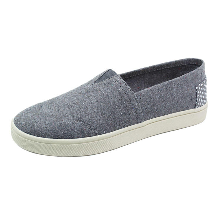 Hemp canvas slip on shoes
