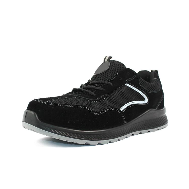 low cut steel toe sport shoes