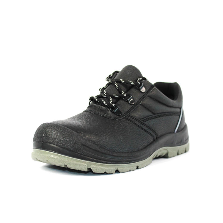 Ankle lace  up steel toe safety shoes