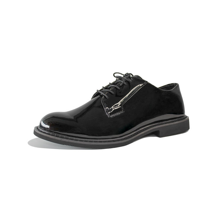 High gloss oxfords shoes