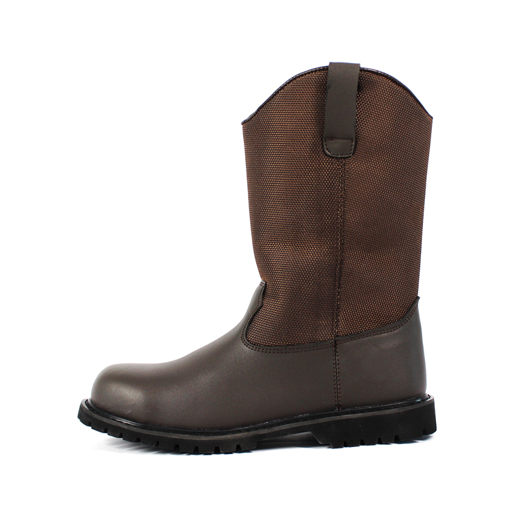 Glory Footwear light work boots with good price for party-1