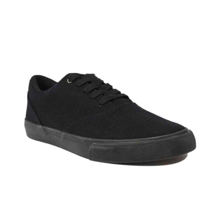 Black canvas shoes mens