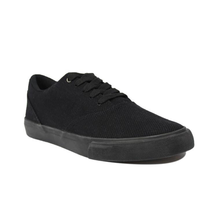 Black canvas shoes mens