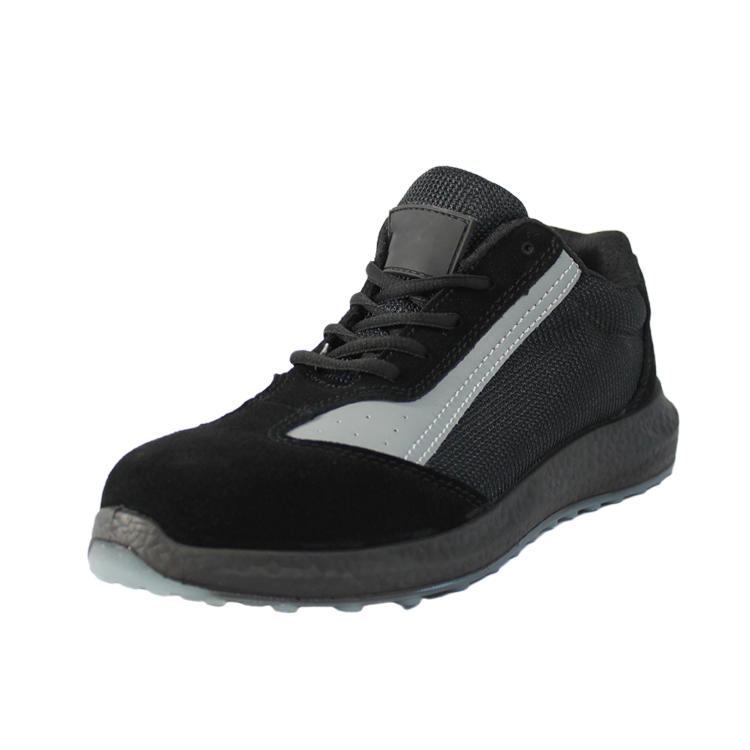 Ultra light steel toe athletic shoes