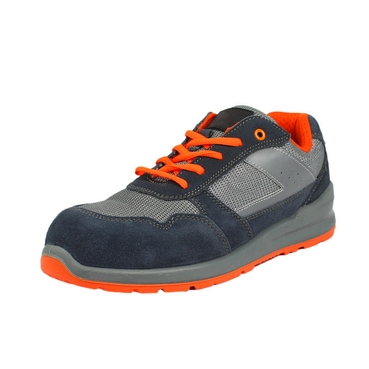 Low cut athletic safety shoes