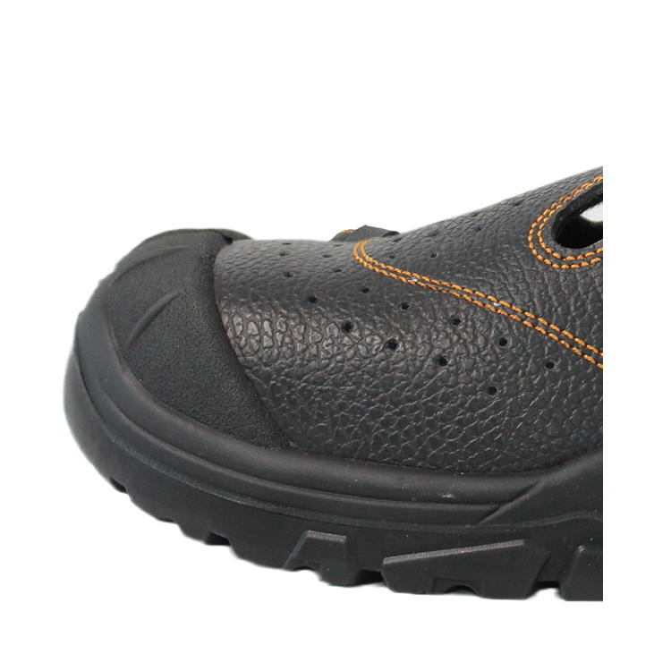 The shoe outsole has an extra one at the toe cap position than the ordinary outsole, which has a good mud-proof and easy-to-clean effect. Double protection with the steel plate stroke in the toe, it is durable, compressive and anti-smashing.