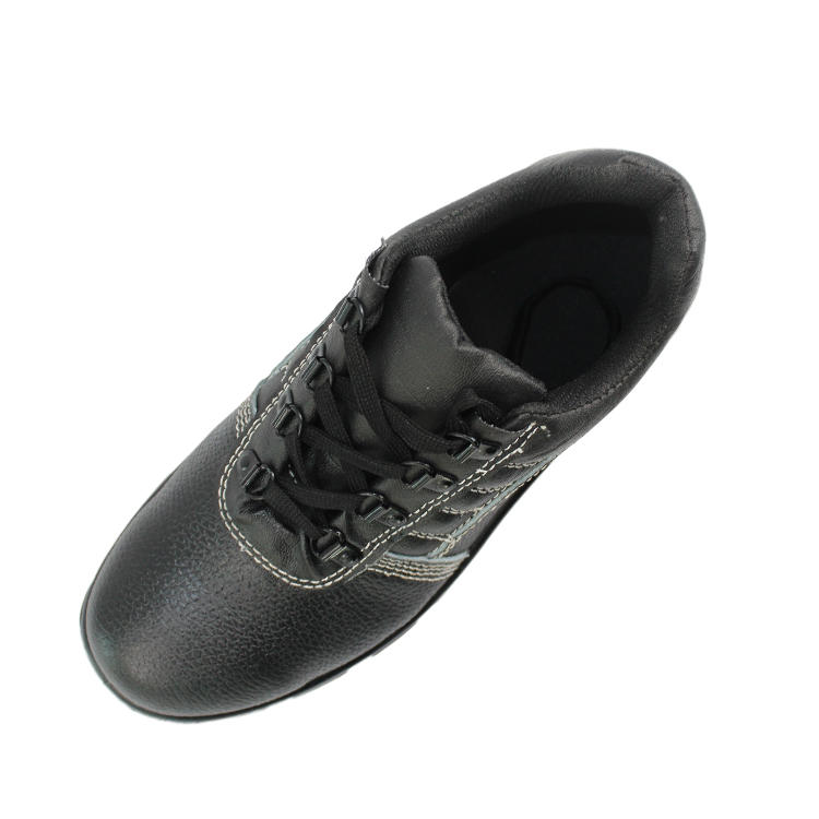 Low cut steel toe safety work shoes
