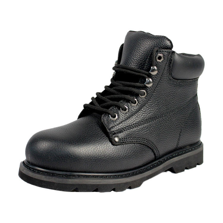 Steel toe Goodyear Welt safety boots