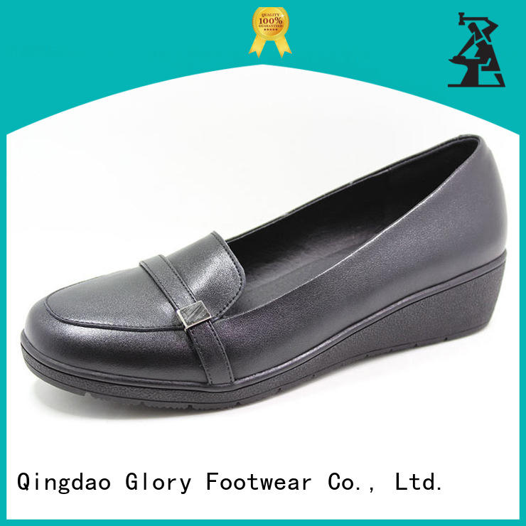 Glory Footwear newly womens leather casual shoes widely-use for shopping