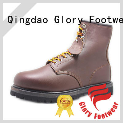 Glory Footwear outsole lace up work boots for wholesale for party