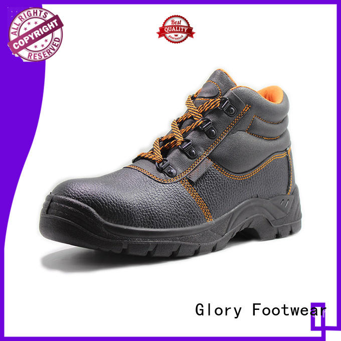 Glory Footwear durable leather safety shoes inquire now for party