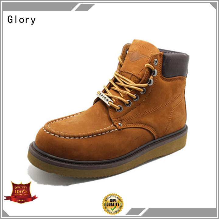 Glory Footwear first-rate low cut work boots factory price for outdoor activity