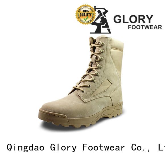 Glory Footwear new-arrival leather combat boots widely-use for business travel