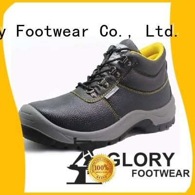 Glory Footwear safety leather safety shoes from China for shopping