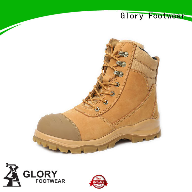 Glory Footwear new-arrival low cut steel toe boots men for business travel