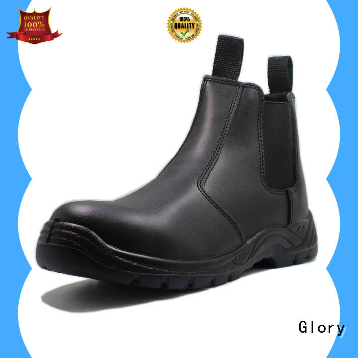 Glory Footwear embossed leather work boots order now for business travel