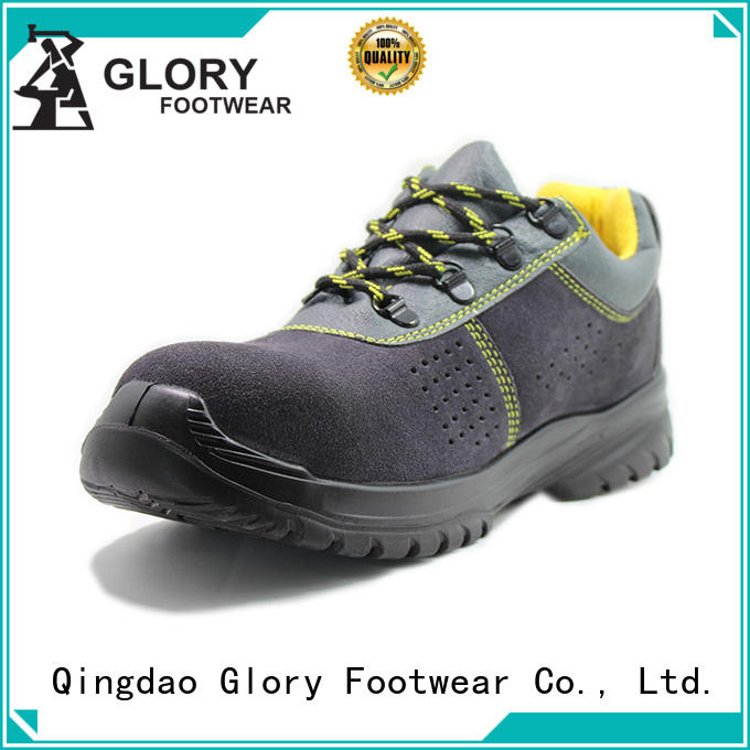 Glory Footwear durable goodyear safety shoes full for party