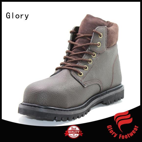 high cut black work boots summer customization for outdoor activity