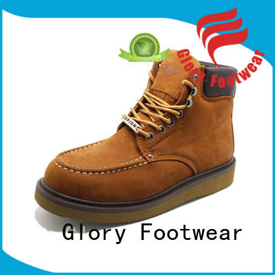 high end comfortable work boots certificate factory price for shopping