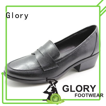 Glory Footwear hot-sale leather shoes for girls long-term-use for outdoor activity