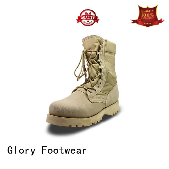 Glory Footwear leather military boots order now for business travel
