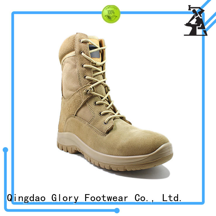 Glory Footwear fine-quality military boots for sale by Chinese manufaturer for hiking