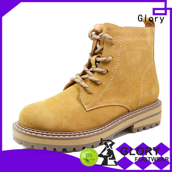 Glory Footwear suede boots widely-use for outdoor activity