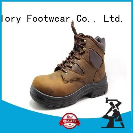 leather lightweight safety boots order now for winter day Glory Footwear
