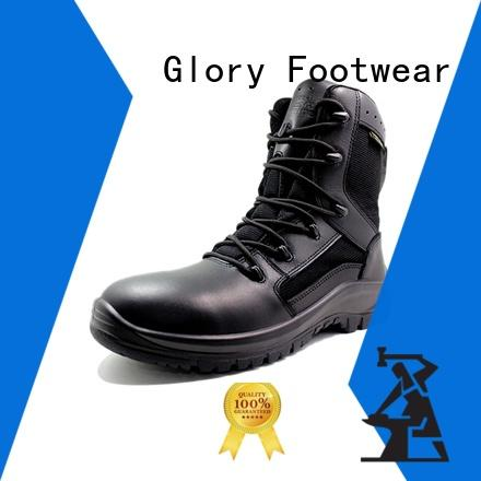 Glory Footwear combat boots by Chinese manufaturer for business travel