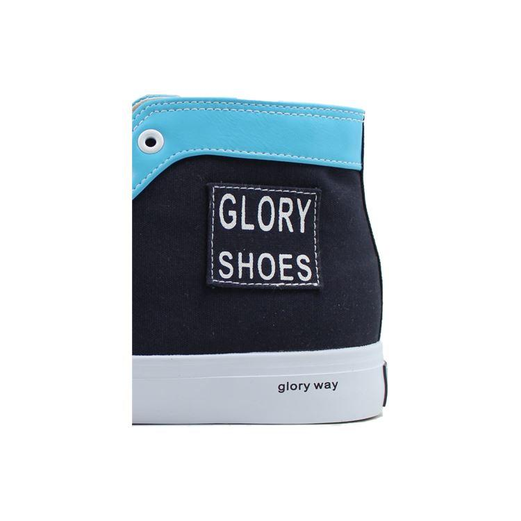 Glory Footwear white canvas shoes with good price for business travel-1