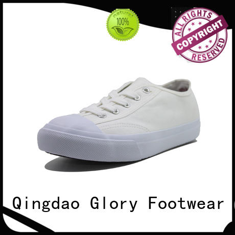fine-quality mens white canvas shoes from China for outdoor activity