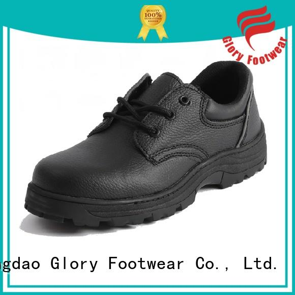 Glory Footwear upper best safety shoes from China for business travel