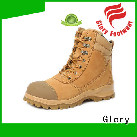 Glory Footwear high cut goodyear welt boots from China for winter day