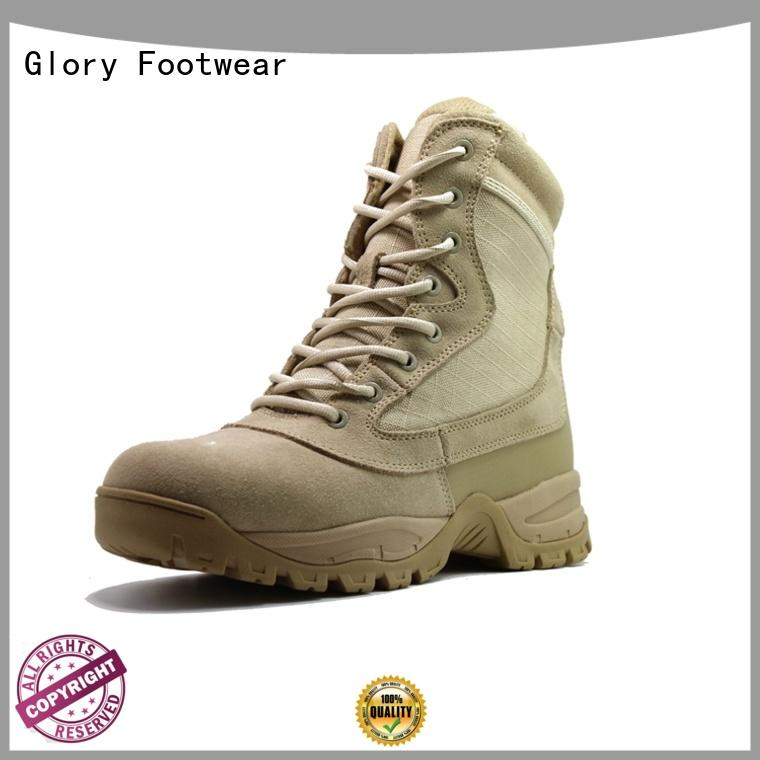 Glory Footwear middle black work boots for wholesale for business travel