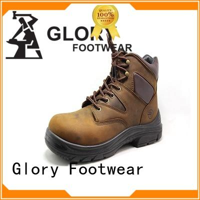 new-arrival lightweight work boots leather factory price for winter day
