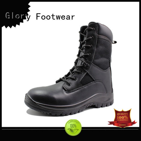 outstanding black combat boots bulk production for outdoor activity