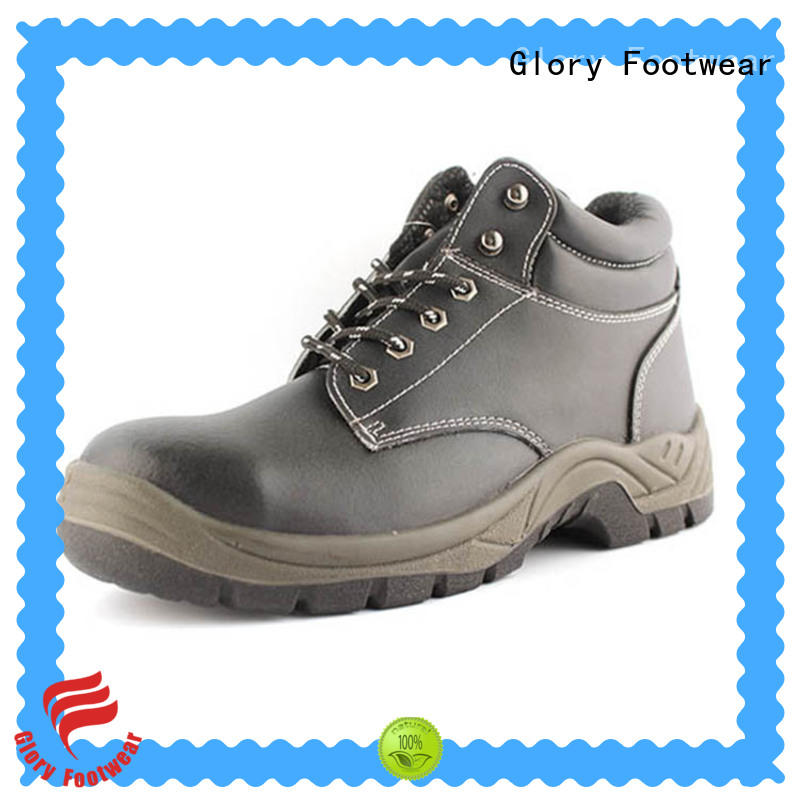 Glory Footwear comfortable steel toe shoes for women with good price for business travel