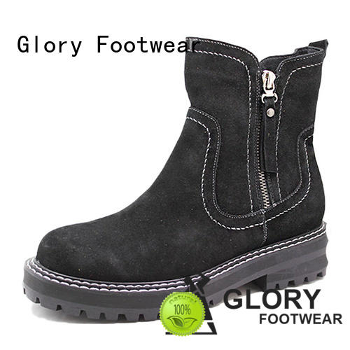 Glory Footwear suede boots with good price for business travel