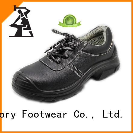 solid best safety shoes handmade from China