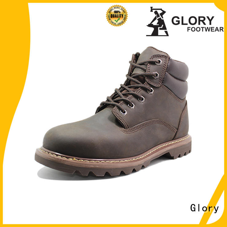 Glory Footwear sports safety shoes wholesale for winter day