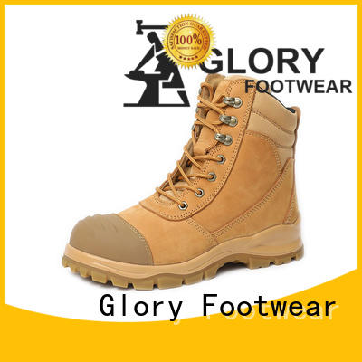 Glory Footwear leather work boots for wholesale for winter day