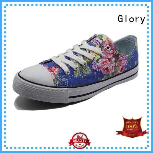 Glory Footwear exquisite canvas sneakers factory price for winter day