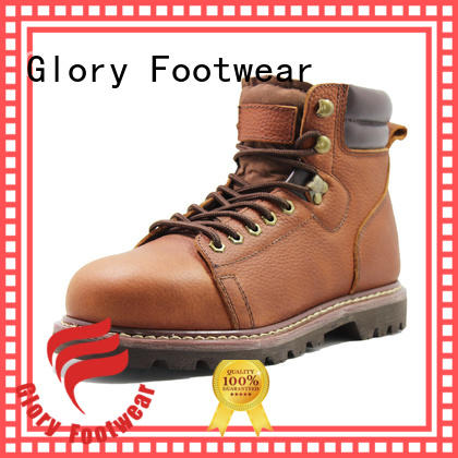 Glory Footwear goodyear welt boots from China for hiking