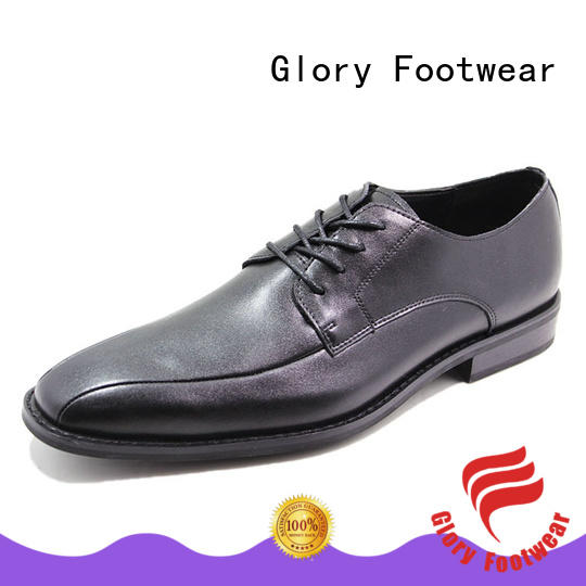 Glory Footwear leather walking shoes with good price for business travel