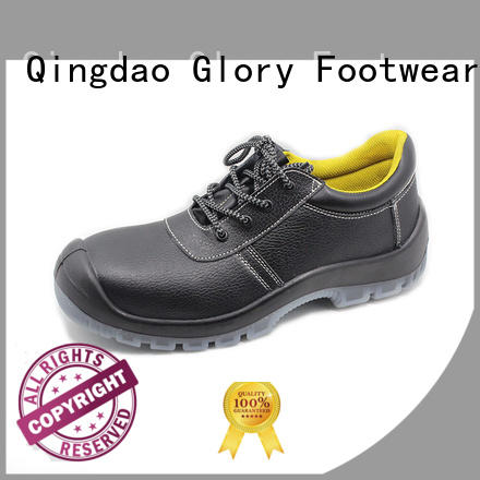 Glory Footwear high cut hiking safety boots with good price for business travel