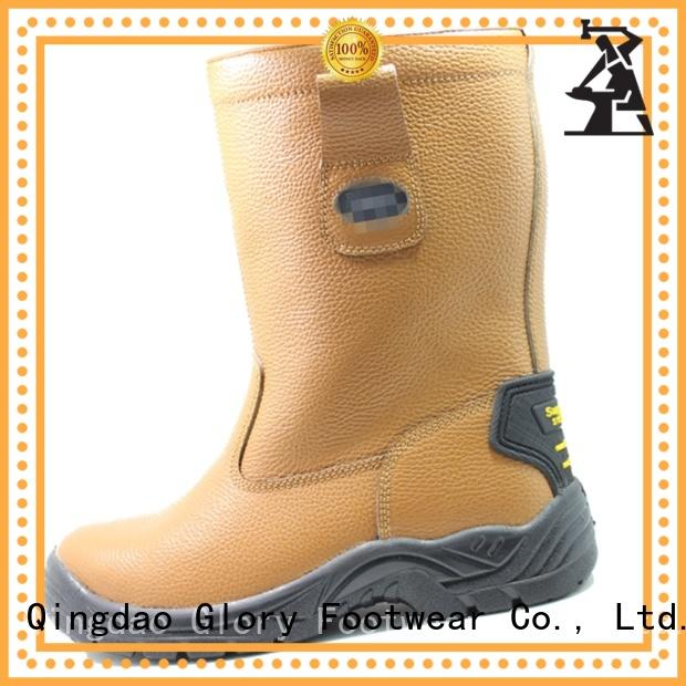 Glory Footwear cut leather work boots for wholesale