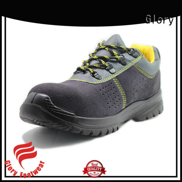 durable safety shoes for men upper wholesale for business travel