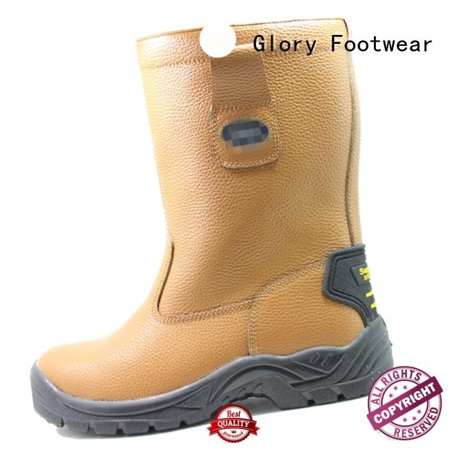 Glory Footwear cut rubber work boots with good price for party